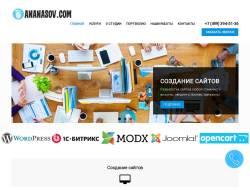 Веб-студия ANANASOV